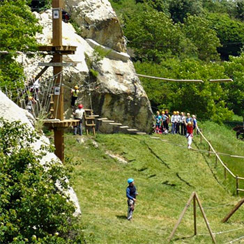 Parque de aventura Urbasa
