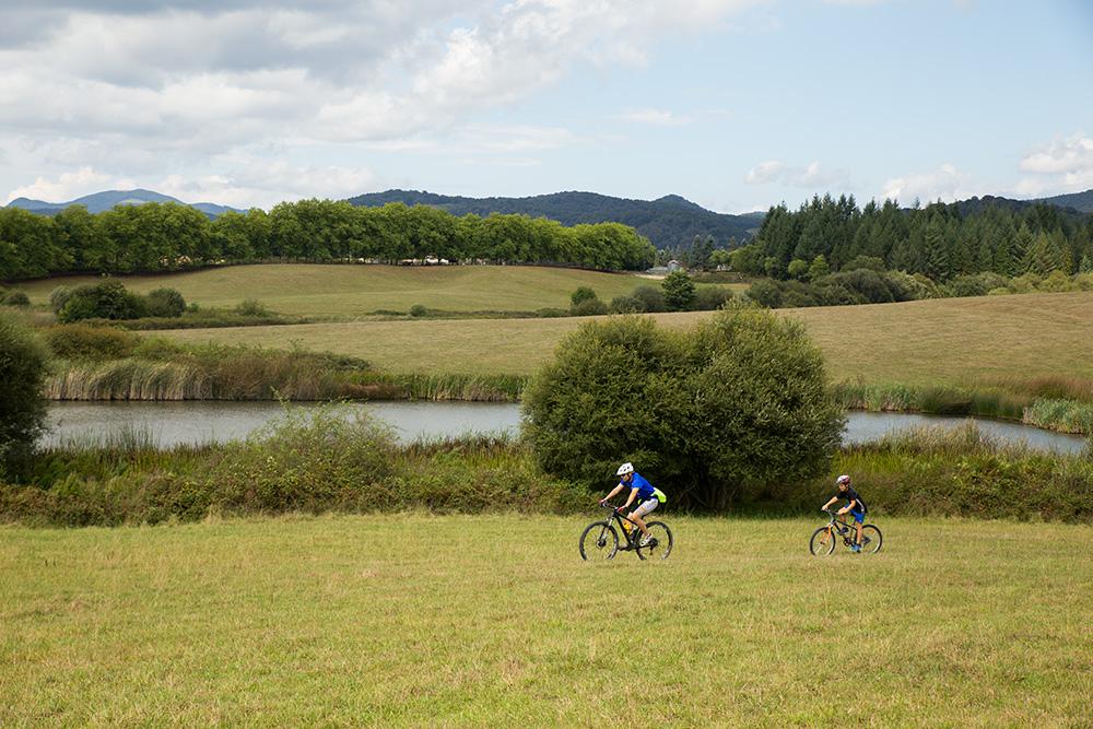 Paseo en bici por el valle Ultzama