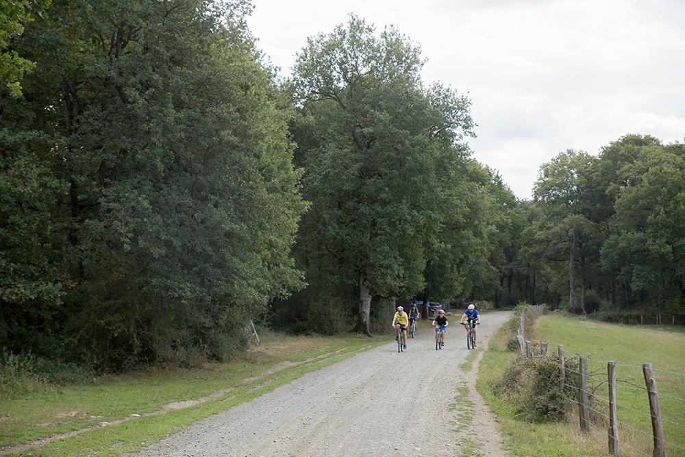 Paseo facil en bici por el valle