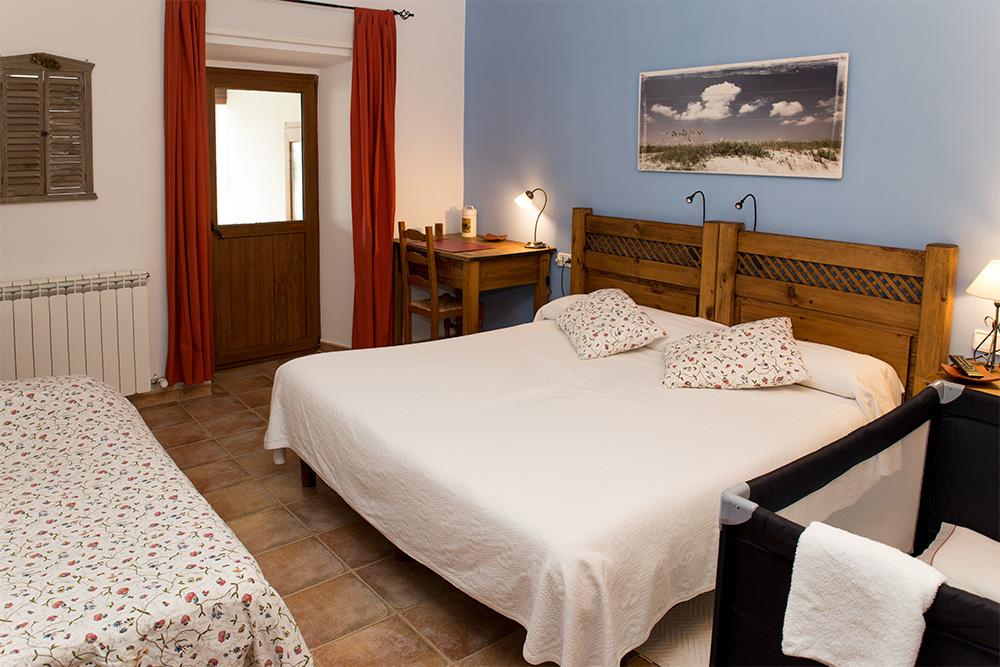 Posibilidad de añadir camas extras o cunas